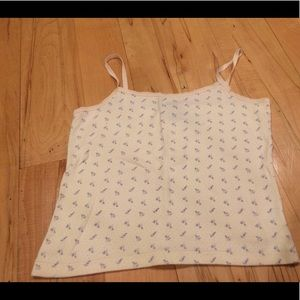 Like new Liz Claiborne cotton camisole tank top